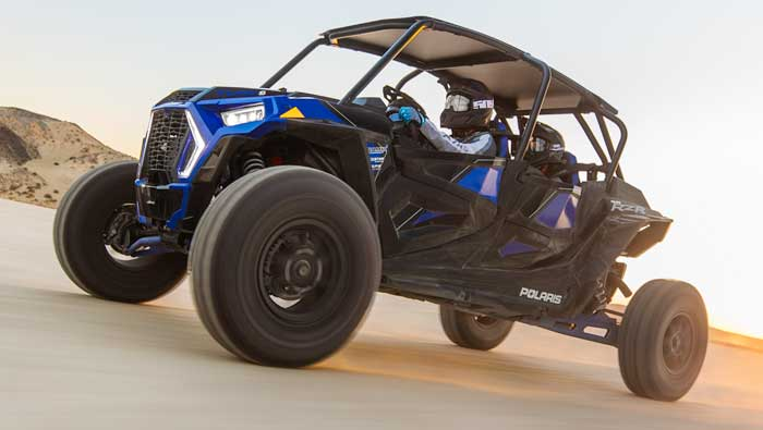 Rzr XP® 4 Turbo S - NEW DRIVING POSITION