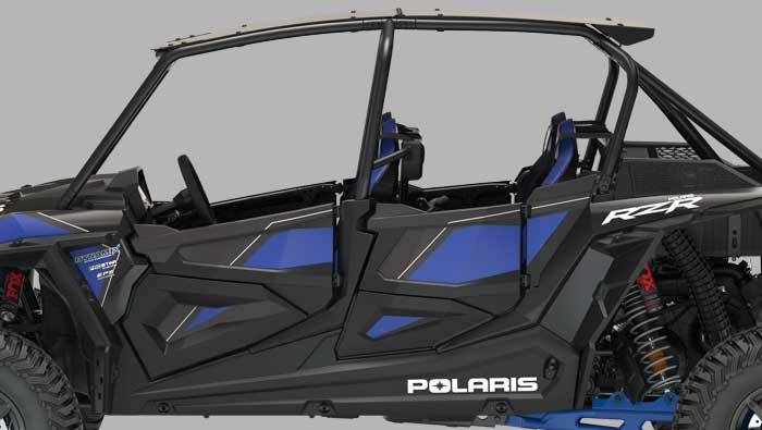 Rzr XP® 4 Turbo S - RACE-INSPIRED COCKPIT