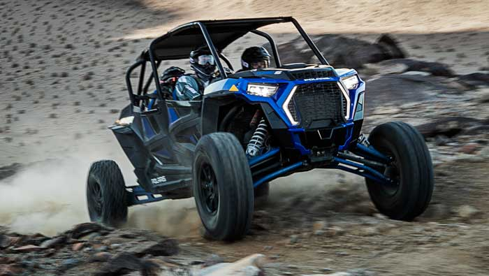 Rzr XP® 4 Turbo S - TURBOCHARGED FURY