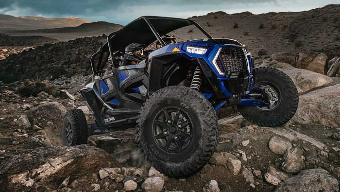 Rzr XP® 4 Turbo S - RIDE COMMAND®