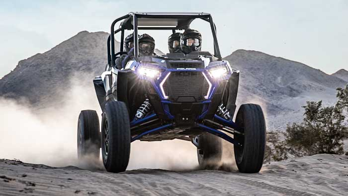 "Rzr XP® 4 Turbo S - TOWERING 16"" CLEARANCE"