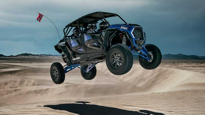 "Rzr XP® 4 Turbo S - 25"" TRAVEL"