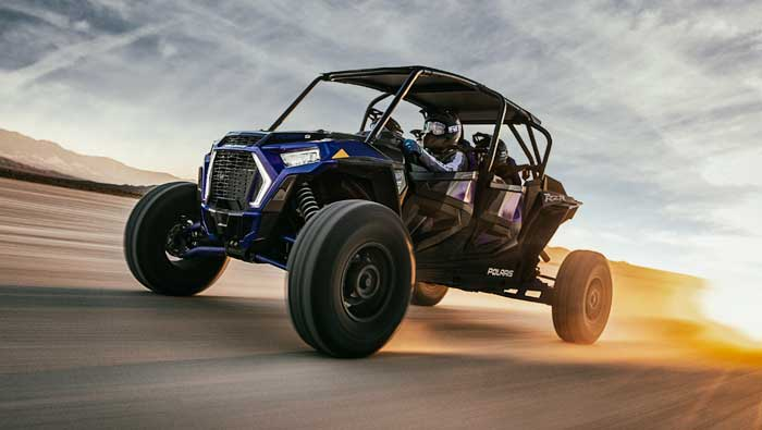 Rzr XP® 4 Turbo S - FOX® 3.0 IBP LIVE VALVE SHOCKS