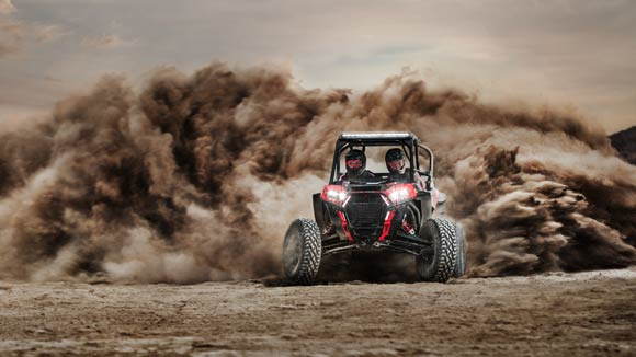 RZR XP® Turbo S - ULTIMATE COMBINATION OF POWER, SUSPENSION AND AGILITY