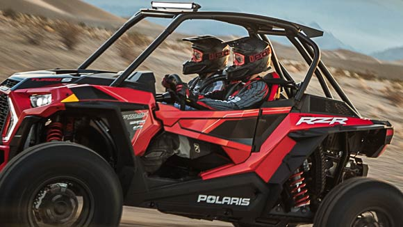 RZR XP® Turbo S - NEW DRIVING POSITION