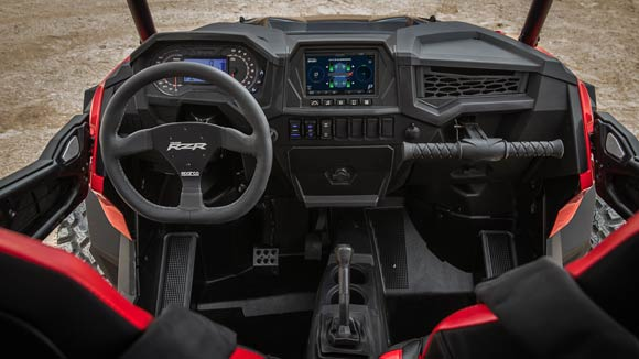 RZR XP® Turbo S - RACE-INSPIRED COCKPIT