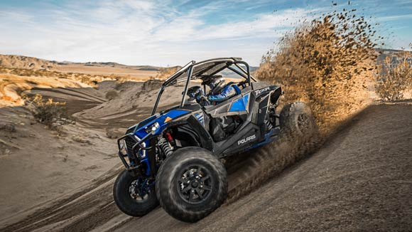 RZR XP® Turbo S - INDUSTRY'S MOST AGILE 72""