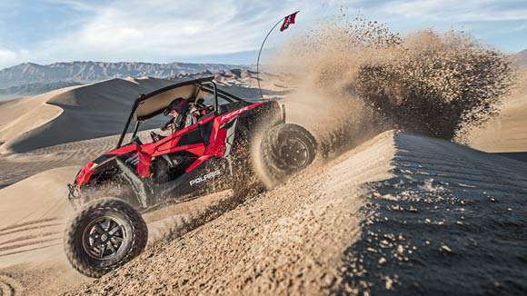 RZR XP® Turbo S - INDUSTRY'S TOUGHEST MACHINE