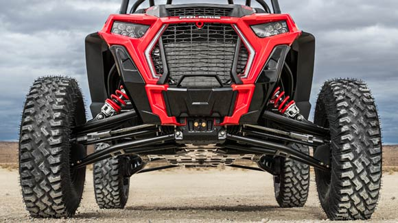 "RZR XP® Turbo S - TOWERING 16"" CLEARANCE"