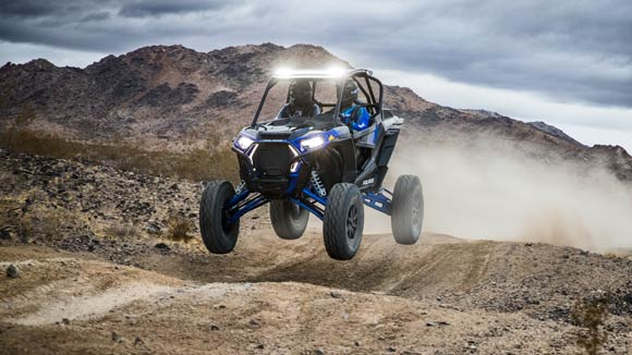 RZR XP® Turbo S - INDUSTRY'S MOST CAPABLE SUSPENSION