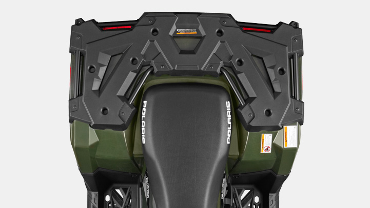 SPORTSMAN 570 EPS - INDUSTRY EXCLUSIVE LOCK & RIDE® / STEEL REAR RACK