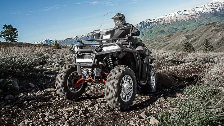 SPORTSMAN XP 1000 - Full Tread. Any Terrain.
